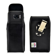 Galaxy S7 Edge Holster Metal Belt Clip Otterbox Case Leather Vertical Turtleback
