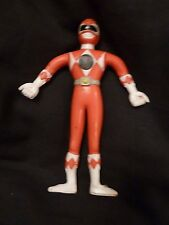Power Rangers 1994 Mighty Morphin  Bendable Figure Saban Henry Gordy Toy Red