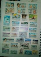 Schiffe Barcos Ships Briefmarken Stamps Timbres Sellos