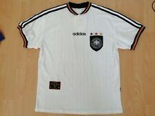 Germany National Team Vintage 1996 1998 Football Jersey L DFB Trikot Old Rare