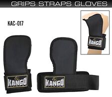 Weight Lifting Hook Straps Grips Pads Gym Training Wrist Support Wraps