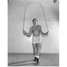Marlon Brando Working Out and Jumping Rope Shirtless 8 x 10 inch photo