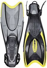 CRESSI Palau Pinne-Scuro/Giallo-UK 7.5-9.5