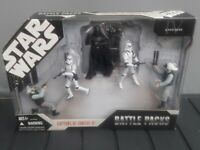 STAR WARS ACTION FIGURES BATTLE PACK CAPTURE OF TANTIVE IV BRAND NEW IN BOX