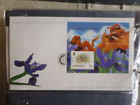 GUERNSEY 1995 SINGAPORE '95 MINI SHEET FDC FIRST DAY COVER