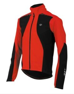 PEARL iZUMi Men's PRO Red/Black Softshell 180 Jacket -New with Tags -XXL RP £140