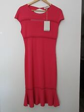 NWT $1750 EMILIO PUCCI STRETCH FLARE HEM DRESS SIZE XS MADE IN ITALY