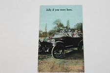 VINTAGE 1900's ANTIQUE AUTO PICTURE POSTCARD