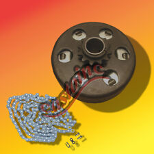 "3/4"" Bore Max Torque Clutch  MiniBike & GoCart & 4 Ft of # 41 Chain USA"