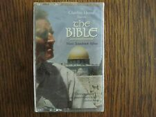 Charlton Heston presents THE BIBLE NEW SEALED Cassette tape '93 Music soundtrack