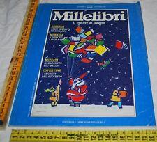 Millelibri N° 01 1 Dicembre 1987 - Simenon Moravia Buzzati Copertine