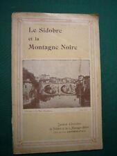 Tarn) Le Sidobre et la Montagne Noire, syndicat d'initiatives de Castres, 1912