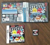 M&M'S KART RACING - NINTENDO DS 2D3 3DS DS LITE Video Game - Tested COMPLETE