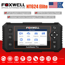 Foxwell NT624 Elite Automotive Full System OBD2 Scanner ABS SRS Diagnostic Tool