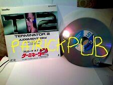 "Terminator 2 Judgment Day Laser Disc 8"" NTSC CLV 1991      NO DVD     NO BLURAY"