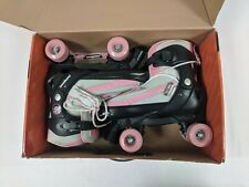 Mongoose Adjustable Roller Skate- Pink And Grey- Sizes 5-8