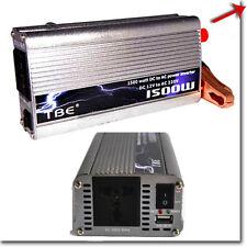 INVERTER 1500W 12V 220V CON USB TRASFORMATORE PER AUTO BARCA CAMPER