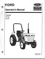 FORD 1715 TRACTOR OPERATOR MANUAL 42171510*