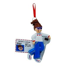 PERSONALIZED Teen Girl Driver License Christmas Tree Ornament 2019 Holiday Gift