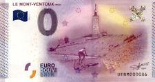 84 BEDOIN Le Mont Ventoux, 2015, Billet 0 Euro Souvenir