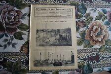 1924 Zentralblatt 9 / Erdbeben in Japan Tokio Yokohama