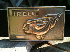 SALVADOR DALI PIRELLI BRASS BRONZE SCULPTURE BUCKLE