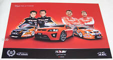 Holden Racing Team HRT Toll HSV Holden Race Relations V8 Supercar Poster