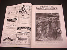 The Illustrated London News,WWI,August 28,1915,Machine Gun,Rows of Rifles,Rare