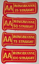 Winchester Trap Skeet 25 50 75 100 Shooting Patches