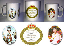 QUEEN ELIZABETH II - DIAMOND JUBILEE MUG (No.2) 2012