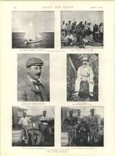 1897 Benin DISASTRO Onorevole GORDON Console Generale Phillips Irlandese L'ALLEVAMENTO DI CAVALLI