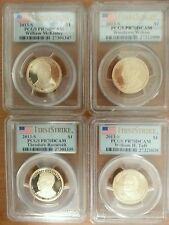 2013 S Presidential proof set 4 coins all pr70dcam PCGS FIRST STRIKE