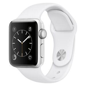 Brand New Apple Watch Series 1 42mm Silver Alumnium Case White MNNL2LL/A