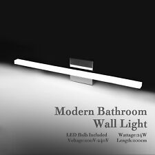 100CM Bathroom Vanity Light LED Wall Lamp Stainless Steel Front Makeup Fixture