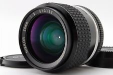 【Near MINT】 Nikon Ai-s Nikkor 28mm f/2 AIS MF Wide Angle Lens from Japan 708
