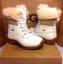Ugg Australia Womens Adirondack II White Color Boot Size 7 US