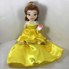 "2020 TY 18"" Beanie Buddy Disney's Princess BELLE Beauty & Beast Plush Toy MWMTs"