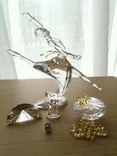 "Swarovski Anna ""magic of dance"", plaque, jewel box, shoes, tie pin"
