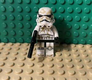 Lego SANDTROOPER With Blaster - Star Wars Minifigure Set # 9490
