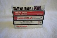 Sammy Hagar Cassette Tapes Lot Of 5 Self titled, Rematch, Standing Hampton, MORE