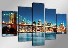 Images sur toileV 200x100 cm new york Nr 6301 abstrait pret a accrocher