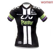 Mujeres Mangas Cortas Camiseta De Ciclismo mono Pantalones cortos acolchado Kits MOUNTAIN BIKE Cyling ropa 015