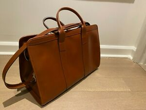Frank Clegg | Weekender Duffle | Chestnut Harness Belting Leather (**NEW**)