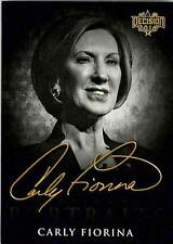 Carly Fiorina CP5 2016 Decision Candidate Portraits Retail Black and White