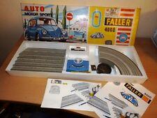 ALTE ORIGINAL FALLER 4000 AUTOBAHN AUTO MOTOR SPORT  AUTO FALLER 4801/C