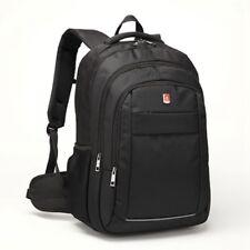 """17.3"""" Large Black Laptop Backpack with Tablet/ eReader Pocket  - 2058"""