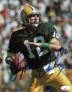 Lynn Dickey signed Green Bay Packers 8x10 Photo #12 - JSA Hologram