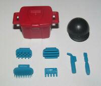 Playmobil Lot Accessoire Equitation Boite + Casque + Outils Chevaux NEUF