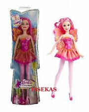 Barbie Fairy Secret Doll Pink Hair T7353 Girl 2010 NEW