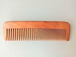 Comb Peach Wood Men Gentleman Moustache Beard Comb Hair Grooming Handmad